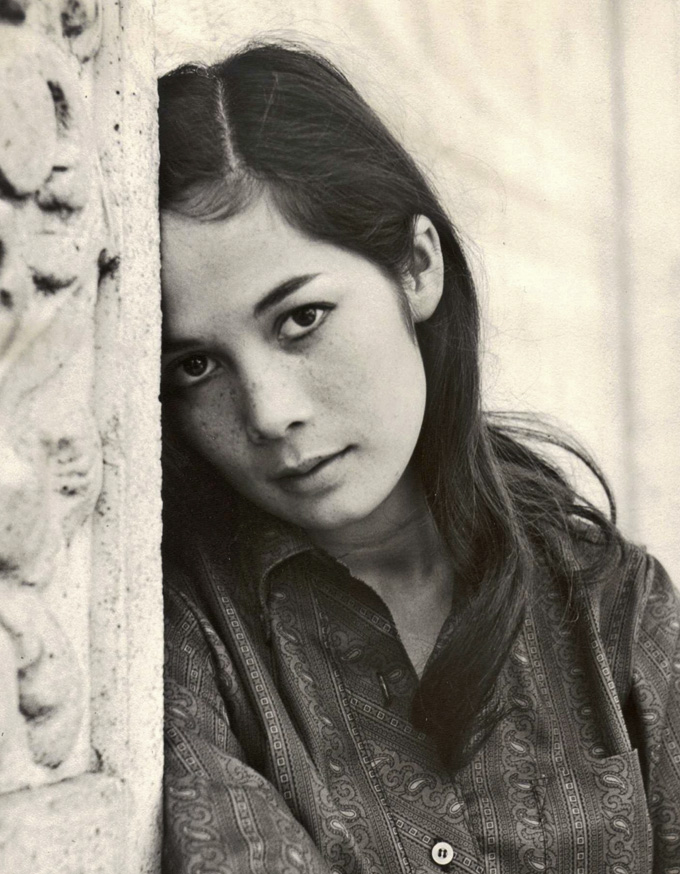 Die Hollywoodschauspielerin Nancy Kwan