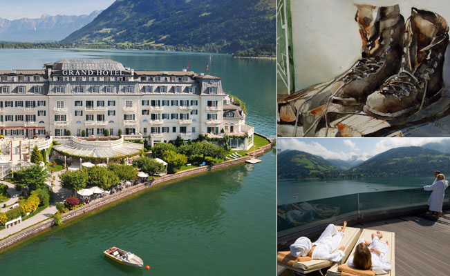 GRAND HOTEL ZELL AM SEE: Inspiration im Salzburger Land